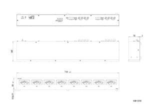 VUM-D208外観図のサムネイル
