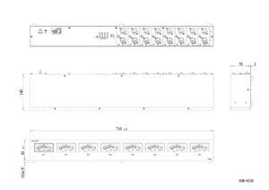 VUM-A208外観図のサムネイル