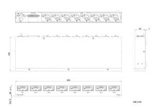 VUM-A108外観図のサムネイル