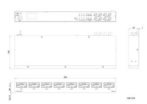 VUM-D108外観図のサムネイル